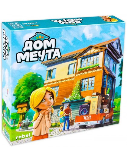 Настолна игра за деца Дом Мечта