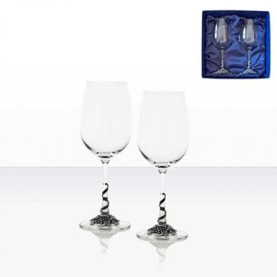 Комплект 2 чаши за червено вино Freitas & Dores AGL1602