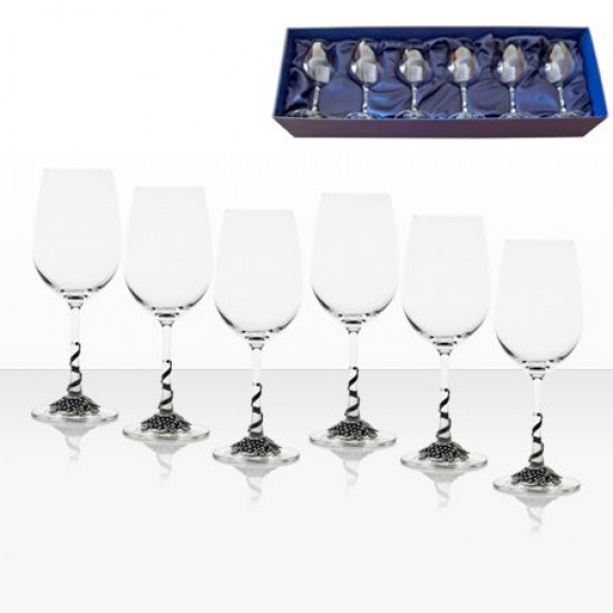Комплект 6 чаши за червено вино Freitas & Dores AGL1606