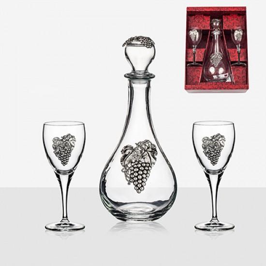 Комплект декантер за вино с чаши Freitas & Dores AR15549