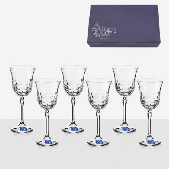 Комплект 6 чаши за вино Brigitta Milione GA Cristal VM0801