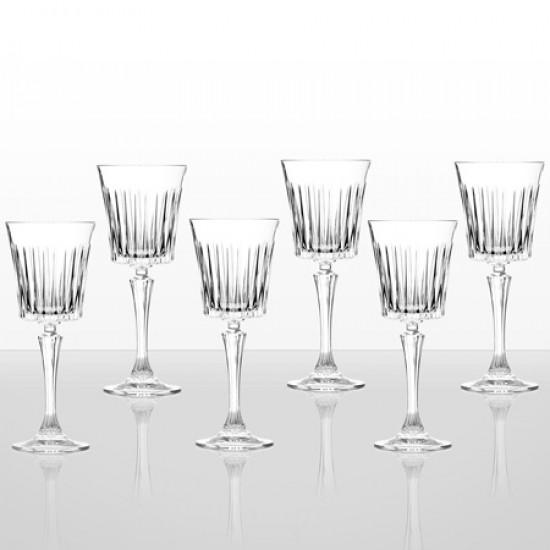 Сервиз 6 чаши за вино Timeless RCR Italy 24566