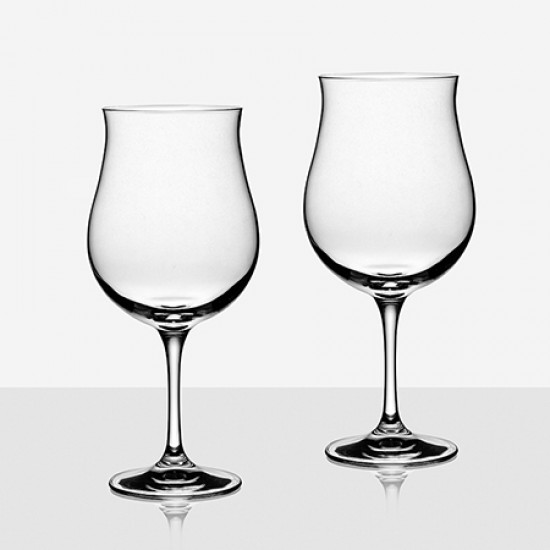 Комплект 2 кристални чаши за вино RCR Italy 45539