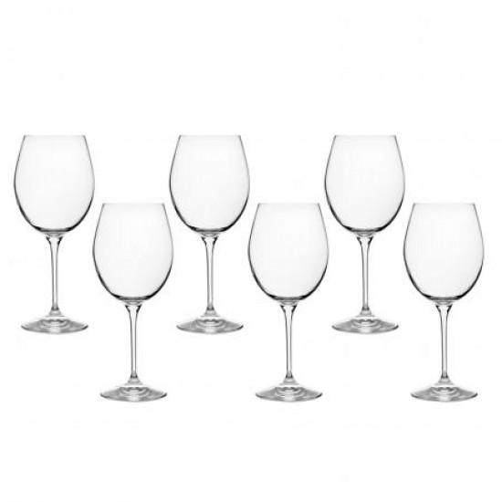 Сервиз 6 чаши за червено вино Invino RCR Italy 620703A