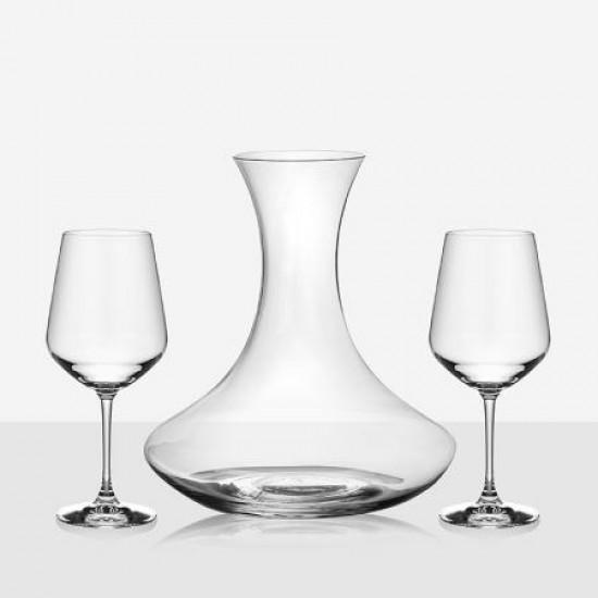 Комплект декантер за вино с чаши RCR Italy 620817