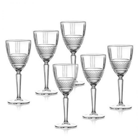 Комплект 6 чаши за вино Brillane RCR Italy 621502