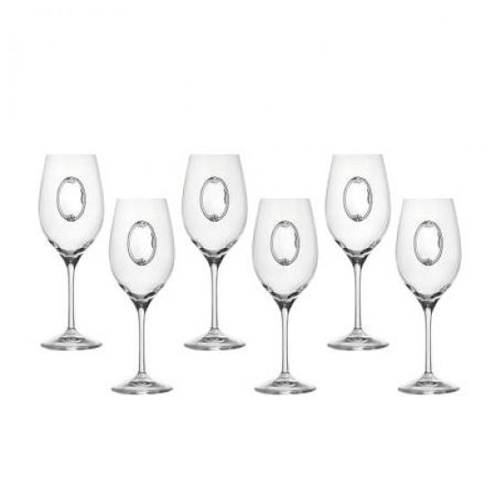 Комплект 6 чаши за вино Invino RCR Italy DG033