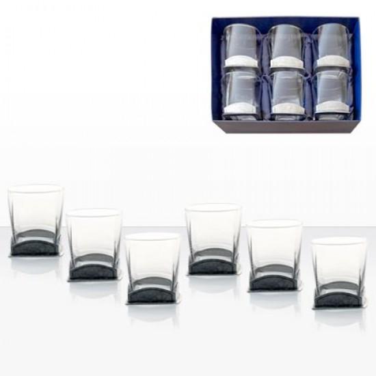 Комплект 6 кристални чаши за уиски Freitas & Dores AWS114