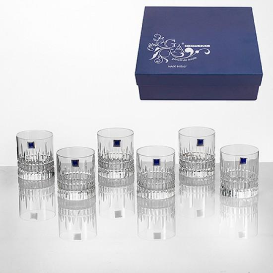 Комплект 6 чаши за уиски Oldfashion Viena GA Cristal VM0602