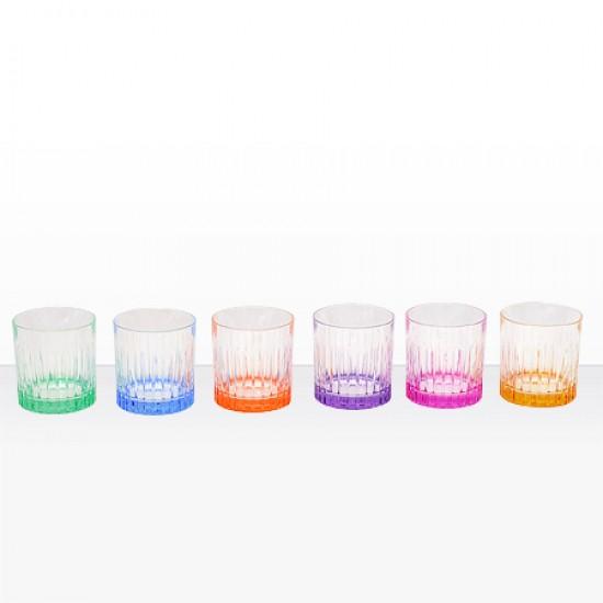 Цветни чаши за уиски Timeless RCR Italy 24828