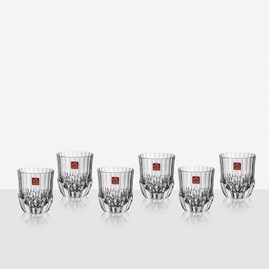 Комплект 6 чаши за уиски Adagio RCR Italy 620306