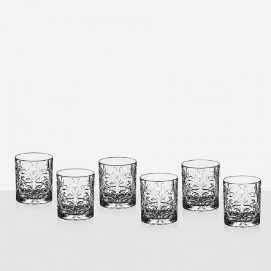 Комплект 6 чаши за уиски Tattoo RCR Italy 621206