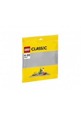 Лего Класик 10701 Плочка сив цвят