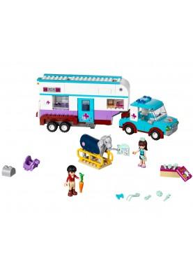 LEGO Friends 41125 - Ветеринарна каравана за коне