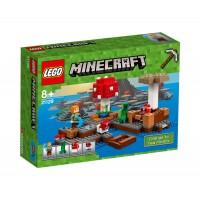 LEGO Minecraft 21129 - Островът на гъбите