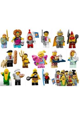 Лего мини фигурки - Серия 17