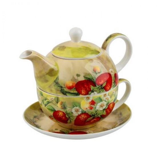 Ягоди чаша и чайник 975405