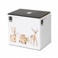 Поставка за пръстени - Комплект от 3 животни