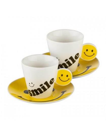 Чаши за кафе с усмихнати емотиконки