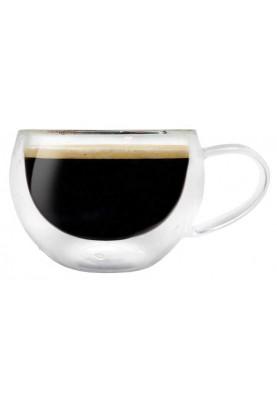 Стъклени чаши за кафе 2 бр.