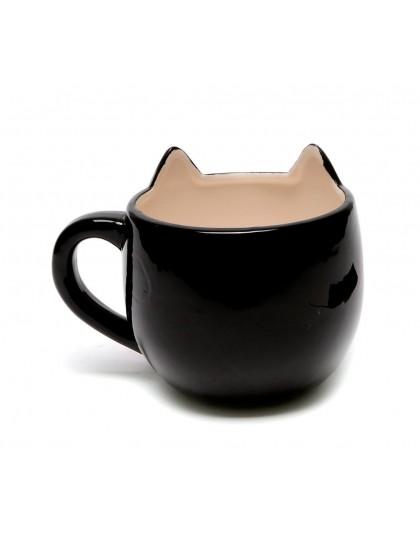 Чаша черна котка