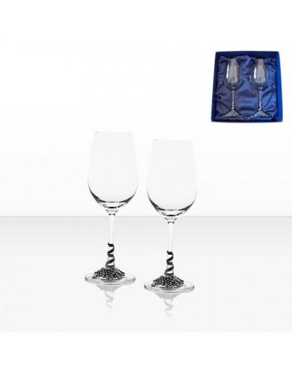 Комплект 2 луксозни чаши за бяло вино Freitas & Dores AGL1642
