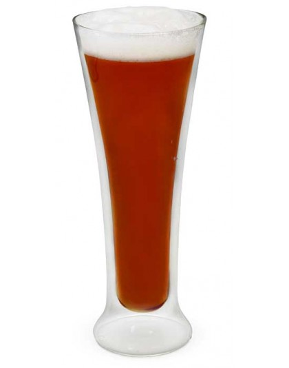 Висока чаша за бира, двустенна 325 мл.