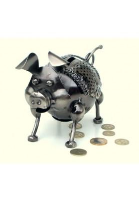 Касичка за пари за подарък прасенце