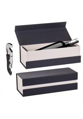 Кутия за бутилка вино и тирбушон