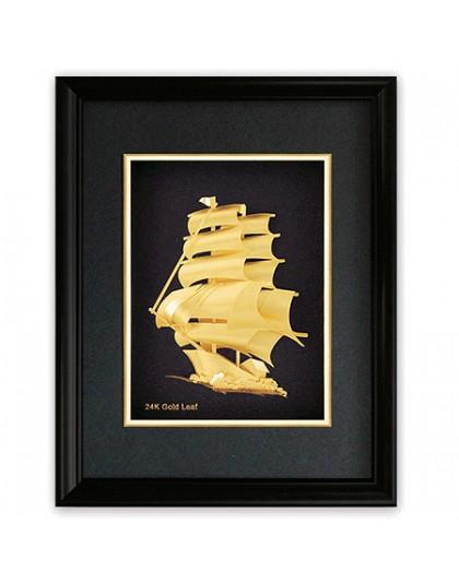 Картина златен кораб