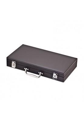 Кожен куфар за покер с 300 чипа 86.05.300