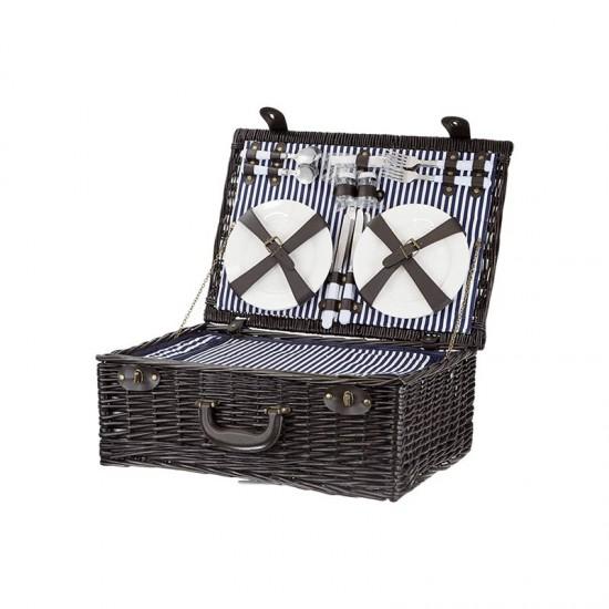 Кошница за пикник за четирима с хладилно