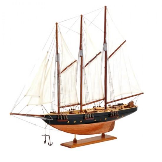 Макет на яхтата Атлантик от 1905г.
