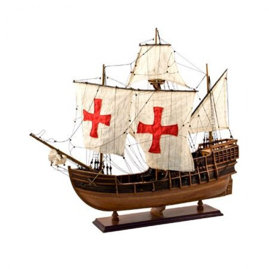 Model of the ship Santa Maria by Christopher Columbus