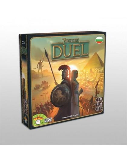 Настолна игра 7 Wonders Duel на български