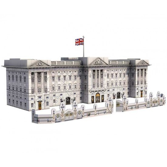 3D пъзел за редене Бъкингамският дворец Ravensburger