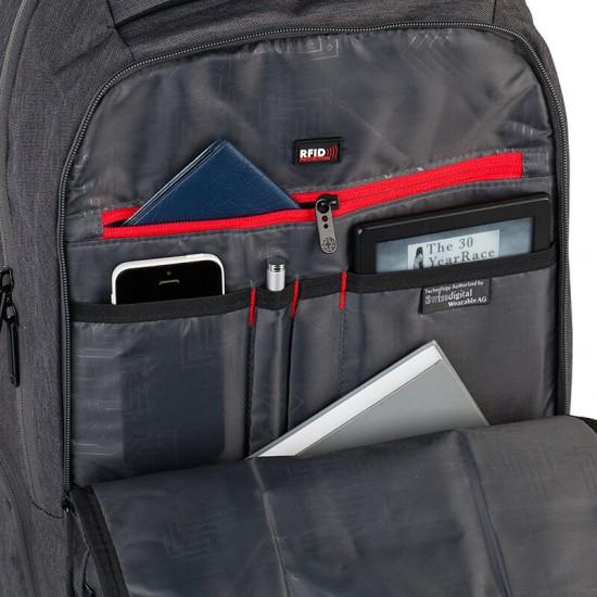 Swissdigital SD-7109G Смарт раница за лаптоп 15.6 инча