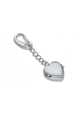 Ключодържател сърце с часовник