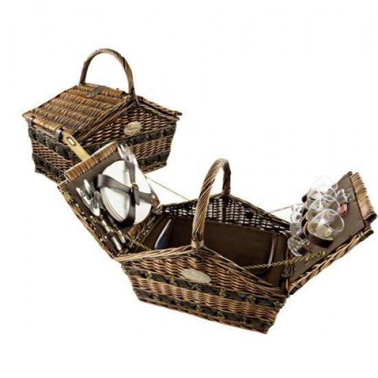 Кошница за пикник за четирима