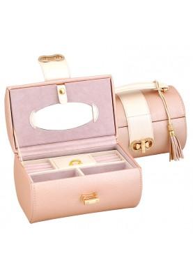 Луксозна кутия за бижута за подарък в цвят пепел от рози