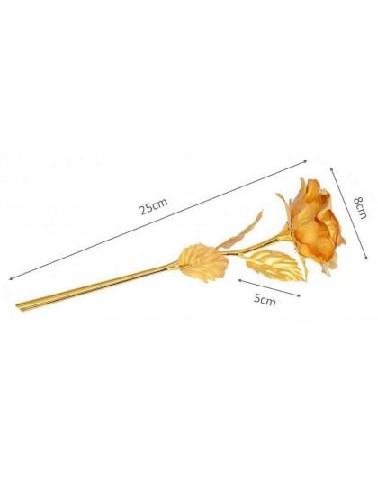 Златна роза за подарък за жена