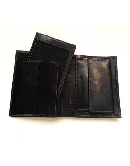 Мъжки портфейл от естествена кожа