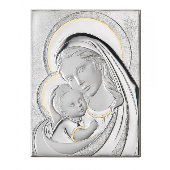 Икона на Св. Богородица с Младенеца 22х27.5 см