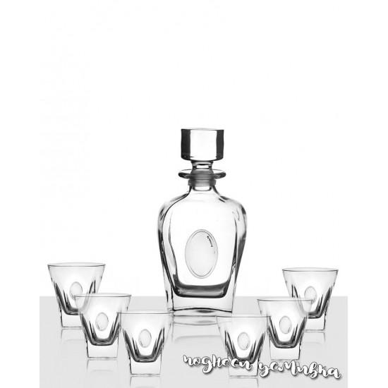 Сет за уиски Fusion с гарафа и чаши DG032