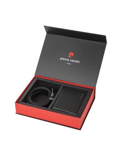 Pierre Cardin PCL045H Мъжки комплект портфейл и колан