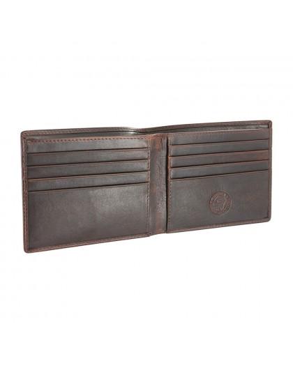 Тъмно кафяв мъжки портфейл Wenger W7-16-DB