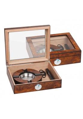 Луксозна кутия за пури в комплект от 3 части