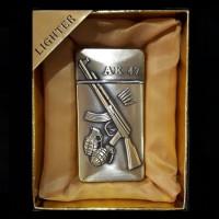 Подарък за военен - Запалка с Автомат Калашников 47