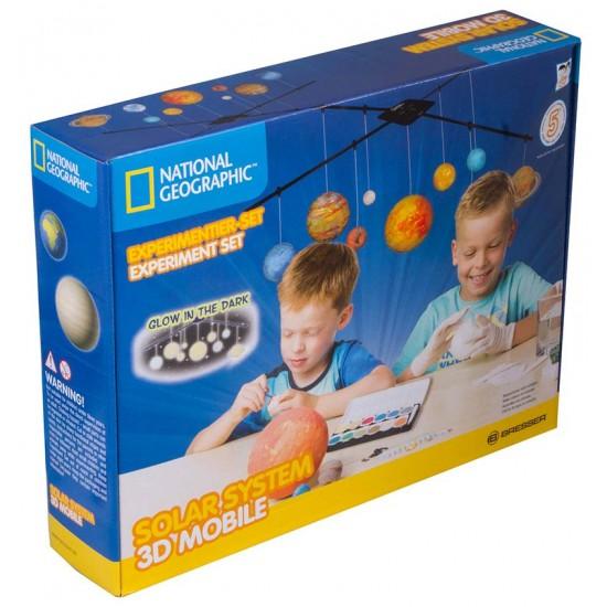 Детски комплект за изучаване на Слънчевата система National Geographic by Bresser