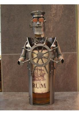 Подарък за капитан на кораб - Оригинална стойка за бутилки